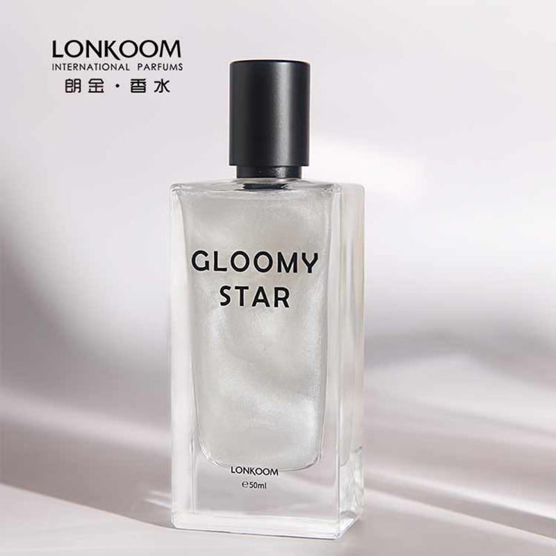[Nur Für Spanien] LONKOOM Original Parfüm Für Frauen 50ml GLEAM STERN EDT rosa shinny duft floral-fruchtig düfte