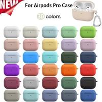 Custodia per Apple Airpods pro custodia accessori per auricolari auricolare Bluetooth wireless custodia in silicone per Apple Air Pod Pro custodia airpods