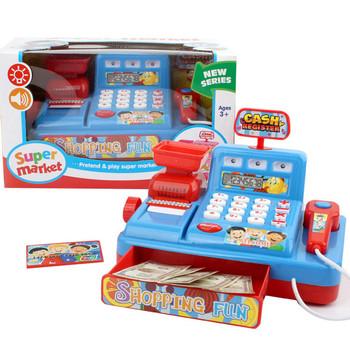 Udawaj zabawki dla dzieci kasa do supermarketu kasjer aktualizuj zabawki elektroniczne dzieci uczące się zabawki edukacyjne 7 kwietnia tanie i dobre opinie Chiny certyfikat (3C) not in mouth 2-4 lat 5-7 lat Zawodów Muzyka for baby girl for Children for kids baby accessories