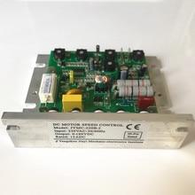 Регулятор скорости электродвигателя щеточного двигателя постоянного тока, В переменного тока, 12ADC, панель управления токарным станком для мини токарного станка