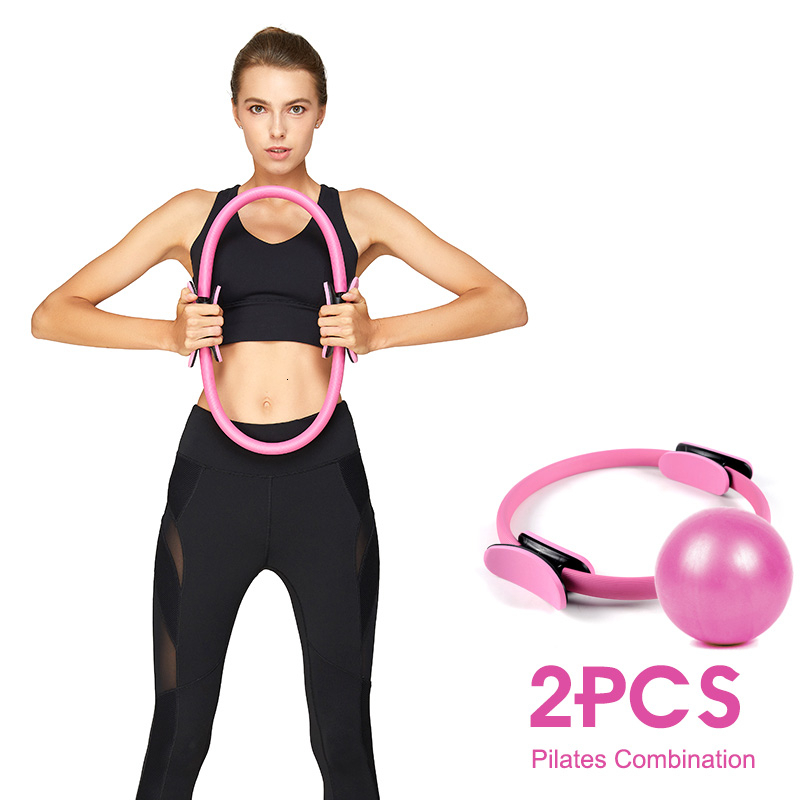 ALI shop ...  ... 4000394133550 ... 1 ... 2PCS Yoga Ring Kit Professional Pilates Muscle Exercise Magic Circle Wrap Slimming Body Building Fitness Circle Yoga Accessories ...