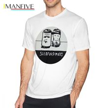 The Cure T Shirt Rob Is T-Shirt Men Cartoon Print Male Plus Size Cotton Shirts Oversized Graphic Tee