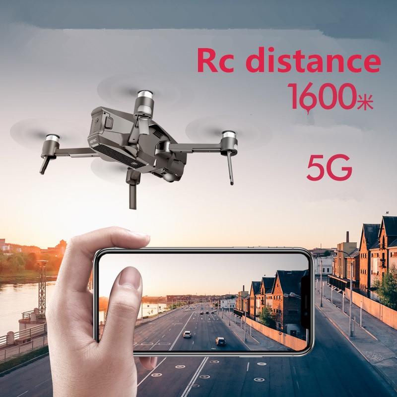 Professional GPS foldable RC drone HD4K aerial view RC Quadrotor Brushless airship model has long endurance