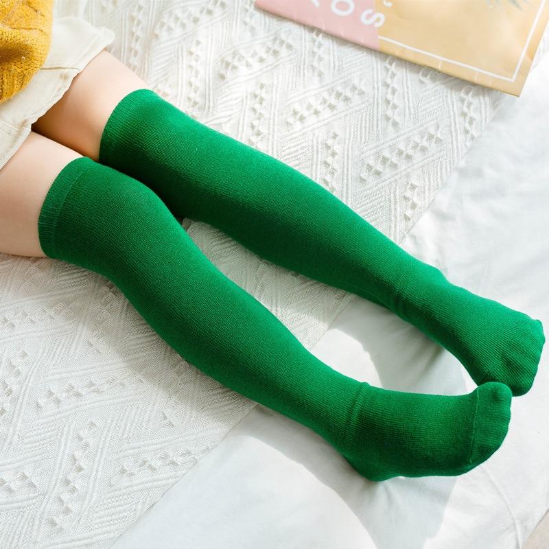 Sweet Baby Infant Children Kids Unsex Cotton Knee High Long Socks Leggings Warm