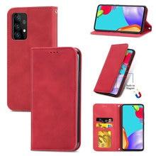 Ốp Lưng Chống Sốc Mịn Ví Bao Da Dành Cho Samsung Galaxy Samsung Galaxy A52 5G 2021 Dạng Flip Case Samsung A72 A32 A12 A02 S sách Etui Một 52 72 32 4G