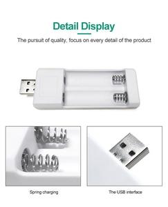 Image 3 - PHOMAX คู่ USB AA แบตเตอรี่ AAA Ni MH/Ni Cd แบตเตอรี่ Charger แบบพกพาน้ำหนักเบา Universal Battery Charger