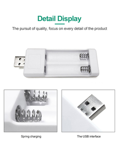 Image 3 - PHOMAX doppel USB AA AAA Batterie Ladegerät Ni Mh/Ni Cd akku tragbare ladegerät Leichte universal batterie ladegerät