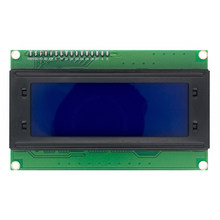 Free Shipping 5pcs 20x4 LCD Modules 2004 LCD Module with LED Blue Backlight White Character