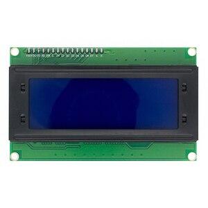 Image 1 - Ücretsiz kargo 5 adet 20x4 LCD modüller 2004 LCD modülü mavi aydınlatmalı beyaz karakter