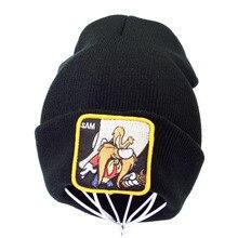 winter Brand Anime SAM embroidery letter knitted cap Men Women Hip Hop Winter Hat sam Warm Knit Bonnet Cap beanie gorro цена в Москве и Питере