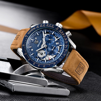 Benyar relógios masculinos militar 2019 dos homens relógios topo marca de luxo relógio masculino relógio de pulso do esporte relógio de quartzo masculino relogio masculino Relógios de quartzo     -