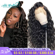 Ali Grace Hair Wig Brazilian Loose Wave Lace Front Human Hair Wigs 360 Pre plucked Lace Frontal Loose Wave Wig with Baby Hair