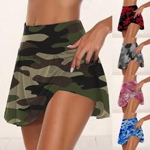 Sport-Skirts Dance-Safety-Short Athletic Dress Shorts Pleated Tennis Workout High-Waist