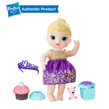Hasbro Baby Alive Cupcake Birthday Dolls Supplement Kawaii Dress Lovely Girl Child Educational Early Toys