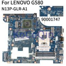 KoCoQin Laptop motherboard Für LENOVO G580 GT635M HM76 15' Zoll Mainboard QIWG5 G6 G9 LA-7981P 90001747 SLJ8E N13P-GLR-A1