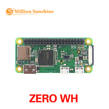 mini PC AIO all-in-one Raspberry Pi Zero WH RPi Zero WH 1GHz CPU 512MB RAM with Bluetooth 4.1 wireless LAN 40PIN GPIO headers raspberry pi zero wh built in wifi pre soldered headers type b micro sd card power adapter official case basic components