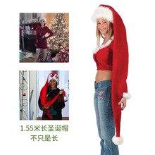 long Christmas hat adult gorro navidad новогодняя шапка рождественская шапкаmoletom kenshin cosplay колпак bulma czapka talher