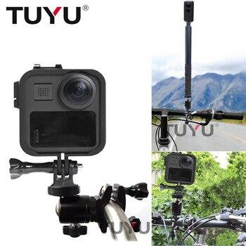 TUYU CNC-Marco de Clip portátil para motocicleta, para cámara Gopro max, 360...