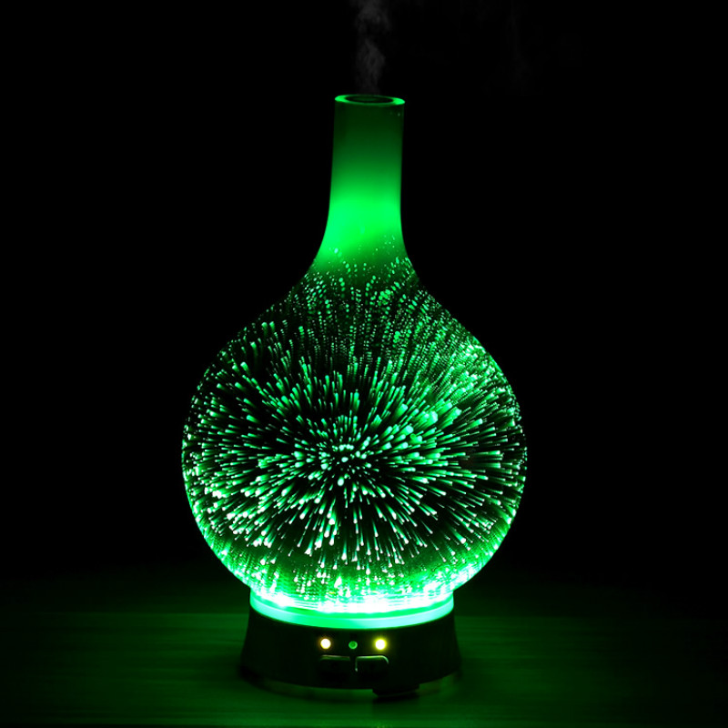 Mute Electric Incense Burner Ultrasonic Air Humidifier Night Light Bedroom Fragrance Incense Holder Home Incense Burner MM60XXL