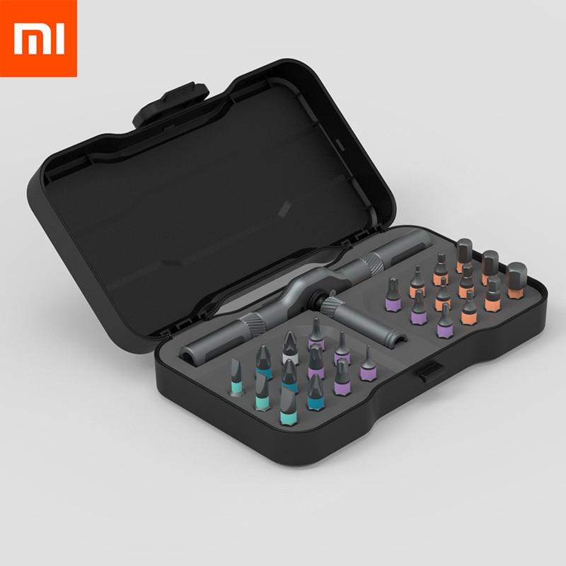Xiaomi Mijia ATuMan RS1 24Pcs DIY Tool Kit Toolbox General Household Hand Tool Screwdriver With Tool Box