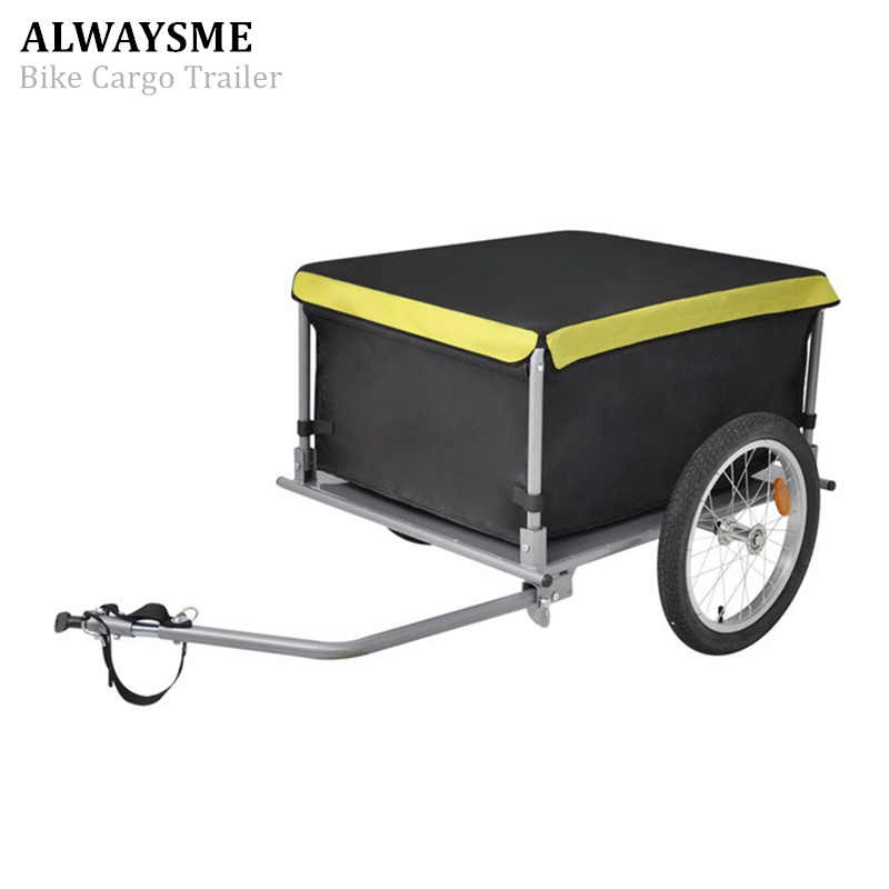 ALWAYSME Bike Cargo Trailer Electrical Wheelchair Trailer & Stroller Load Capacity 60KGS Wheel Size 40CM