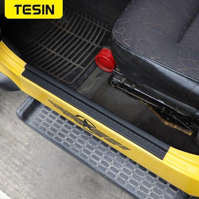 Фото резиновые молдинги для стайлинга tesin накладка на порог автомобиля цена