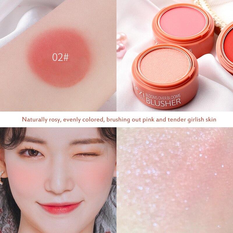 3 cores pequeno sino rosa rosto blush 01