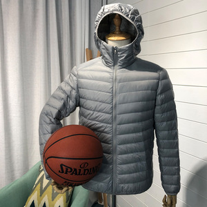 Image 5 - Man Winter Autumn Jacket White Duck Down Jackets Men Hooded Ultra Light Down Jackets Warm Outwear Coat Parkas Outdoors