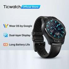 Ticwatch pro 2020 1gb ram smartwatch display duplo ip68 à prova dip68 água relógios nfc sono rastreamento 24h monitor de freqüência cardíaca relógio masculino