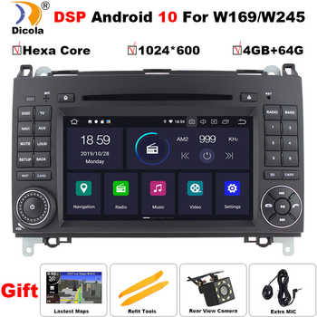 DSP Android 10 For Mercedes Benz Sprinter B200 W209 W169 W245 B170 Vito W639 two DIN Car DVD player Radio GPS multimedia stereo - DISCOUNT ITEM  35 OFF Automobiles & Motorcycles