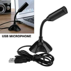 USB Mini Desktop Speech Microphone Mic Stand Adjustable For PC Laptop Computer Notebook For Desktop PC High Quality