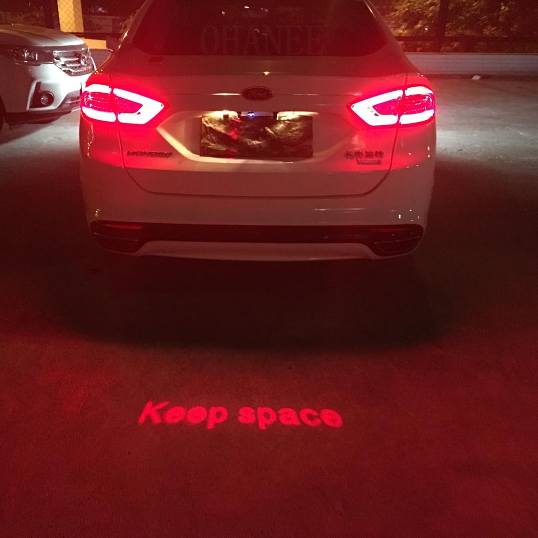 Автомобильный анти-столкновения лазерный противотуманный светильник авто анти-туман Парковка держать место сигнальные индикаторы мотоци...