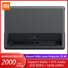 Original Xiaomi Mijia Laser Projector 4K 1S Projection TV 2000 ANSI Lumens Home Theater 150 Inch Ultra Short Throw Projector(China)
