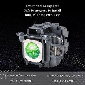 Image 2 - متوافق العارض مصباح ELPLP78 لإبسون EB 945/955w/965/EB X24 EB X25 EH TW490 EH TW5200 EH TW570 EX3220 EX5220 EX5230