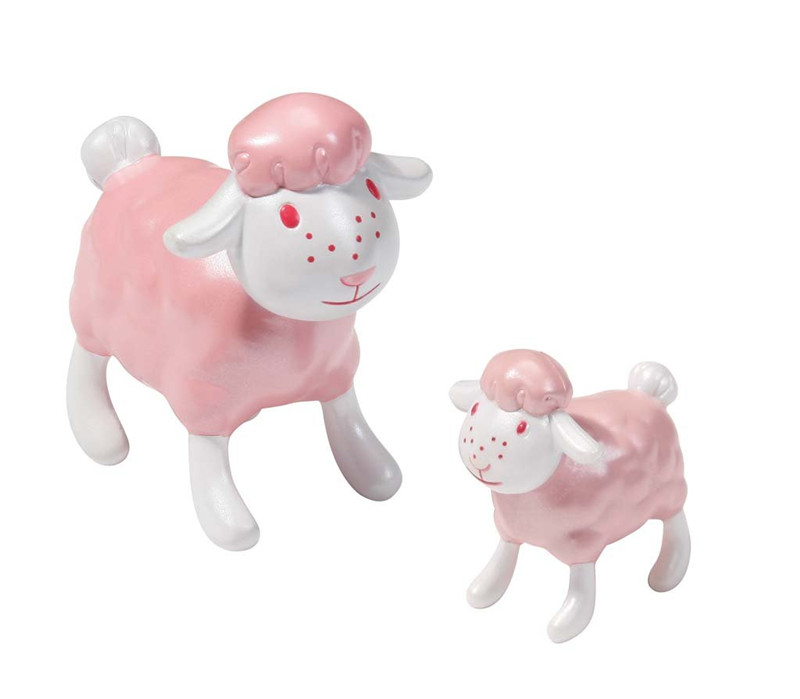 2 Pc Genuine Zapf Fly Sheep Action Figure Model Limited Cartoon High Quality PVC Doll Pendent Toy Gift For Baby Kid