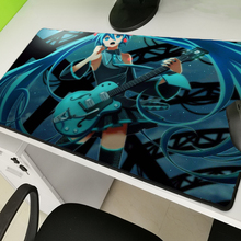 Yuzuoan Lockedge Large Game Mousepad Computer Player Anime Rubber Pad Keyboard Mouse Mat PC Hatsune Future Size