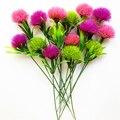 5 шт Allium помпон Искусственные цветы Одуванчики круглый шар букет цветов для домашнего декора свадебные украшения, аксессуары