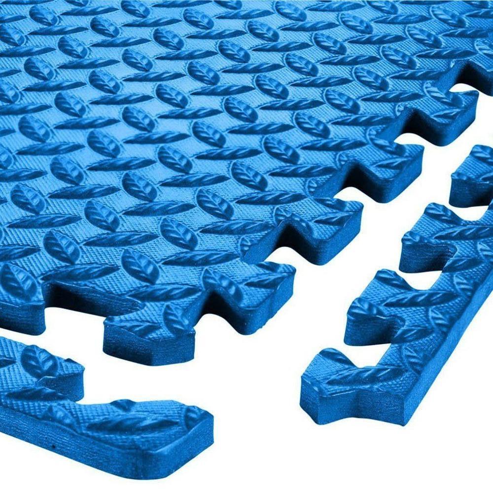 24-1200 SQ FT INTERLOCKING EVA FOAM FLOOR PUZZLE WORK GYM MATS PUZZLE MAT LOT EC