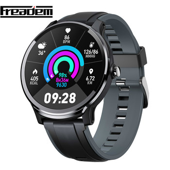 Smart Watch SN80 1.3 Inch Bluetooth smartwatches Full Touch IP68 Waterproof Blood Oxygen Men Sport Smartwatch for Android IOS