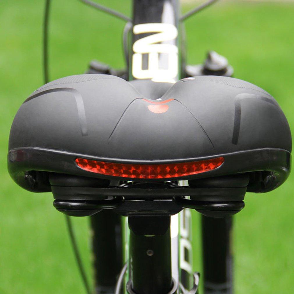 Купить с кэшбэком Bicycle Seat Big Butt Saddle Bicycle Saddle Mountain Bike Seat Bicycle Accessories Shock Absorber Spring Saddle