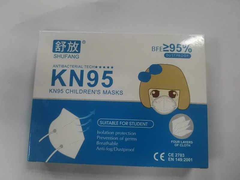 FFP2 Kid KN95 Masque для мальчиков и девочек KN95 детская маска для лица анти-туман защитная маска для рта респиратор многоразовый mascarillas