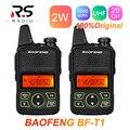 2 шт. BAOFENG BF-T1 UHF рация мини Детская радиостанция HF приемопередатчик CB Ham Радио любительский Woki Toki BAOFENG BF T1