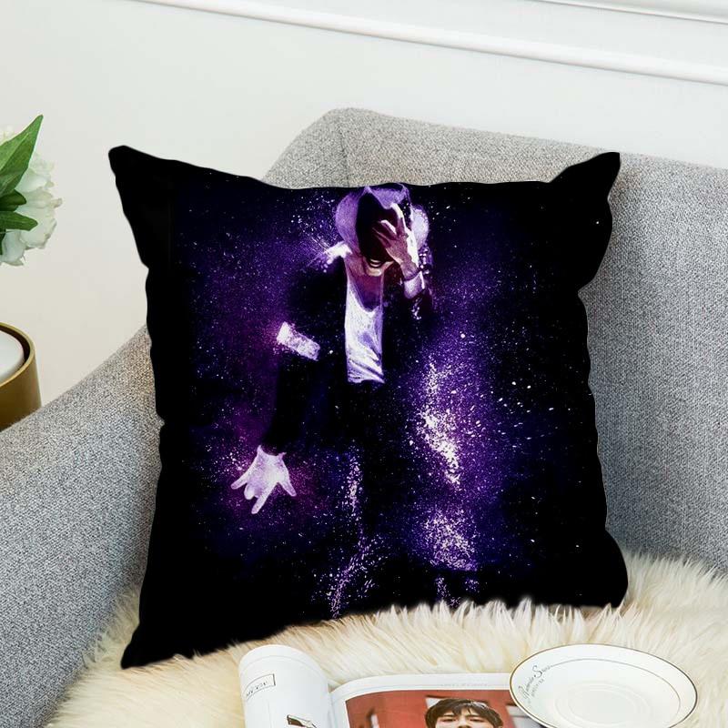 Michael Jackson Pillow Case Polyester Decorative Pillowcases Throw Pillow Cover style-6