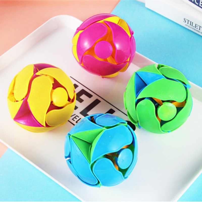 Plástico Anti Estresse Bola Brinquedo Interativo Mão Cobertores E Bolas de Mudança de Cor da Manta Crianças Brinquedos Educativos Aleatório