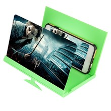 8 Inches Phone Screen Magnifier High Definition 3D Video Amplifier Universal Smartphone Holder Stand Support Bracket