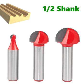 1pc 12 7mm Shank Ball Nose frez trzpieniowy okrągły nos Cove frezowanie CNC Bit promień rdzeń Box stałe frez węglikowy narzędzia tanie i dobre opinie NONE CN (pochodzenie) frezy kulkowe Stop wolframu i kobaltu 45# steel YG6X + - 003 tolerance