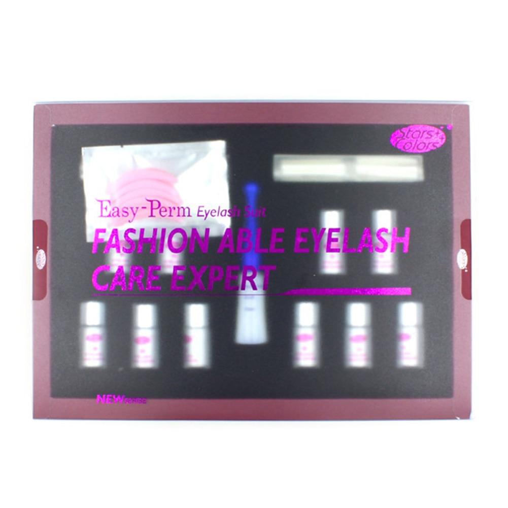 Professional Use Curling Up Wave Lash Lift Kit Extension With Box Permanent Practical Enhancer Glue Eyelash Perm Set Makeup