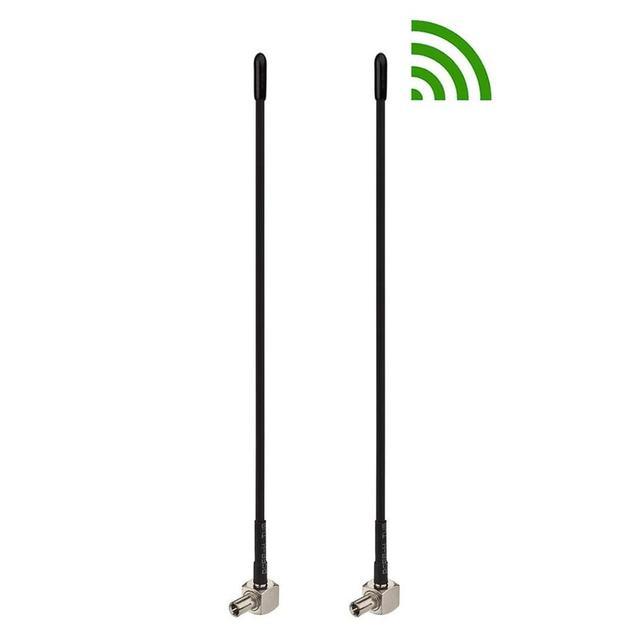 2 Pcs 4G LTE TS9 connector 5dBi Broadband Antenna Booster Signal Amplifier For HUAWEI E8372,E5577,E5573,E5786,E8278 ZTE R216-Z 1