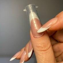 120 шт. двойной формы для наращивания ногтей, полного покрытия, накладные ногти из акрила для быстрого здания форма Типсы пальца расширение и...