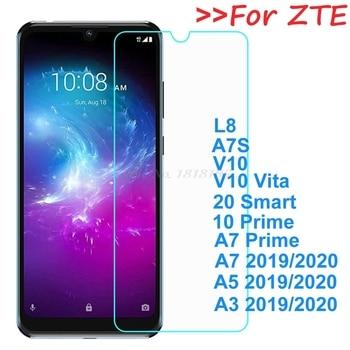 Перейти на Алиэкспресс и купить Закаленное стекло для zte Blade A7S A7 10 Prime, Высококачественная защитная пленка, Защита экрана для zte Blade A5 A7 2020 20 Smart